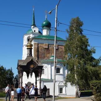 Dubrowskij Kirche in Irkutsk