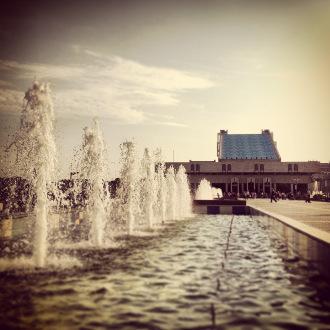 Kasan: Brunnen im Stadtzentrum beim Wildschweinsee
