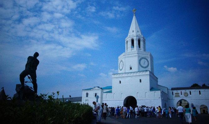 Kasan: Eingang zum Kreml