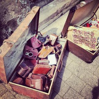 Ein Koffer in Eisenach