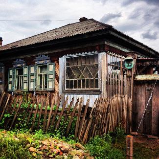 Holzhaus Krasnojarsk
