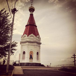 Kapelle Paraskewa-Pjatniza in Krasnojarsk