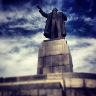 Lenin Statue in Jekaterinburg