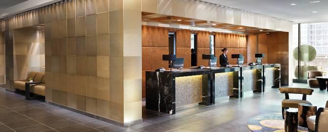 Lobby im Hyatt Düsseldorf Regency