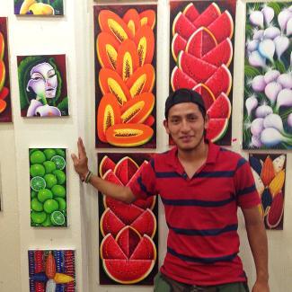 Antonio Coche – einer der vielen Künstler in San Juan