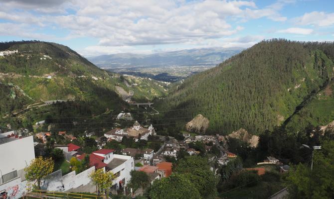 Blick über das Tal von Guapulo