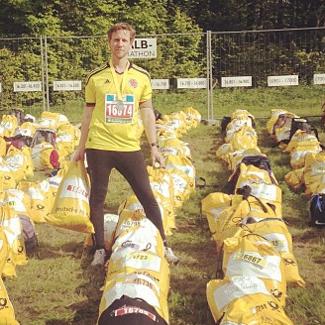 Lars beim Rennsteiglauf 2013