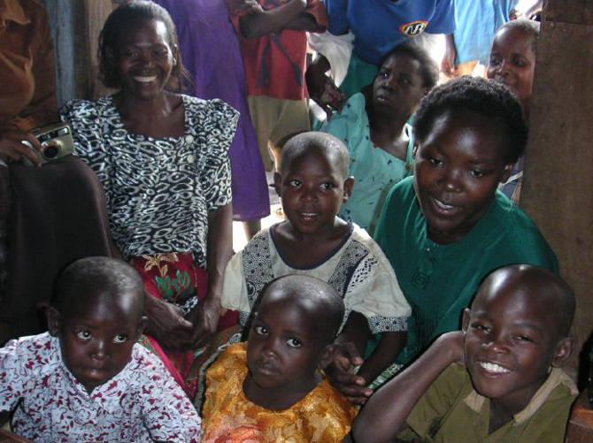 Zu Besuch bei meinem Patenkind Janet in Uganda
