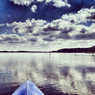 Auf dem Useriner See
