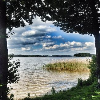 Blick auf den Useriner See