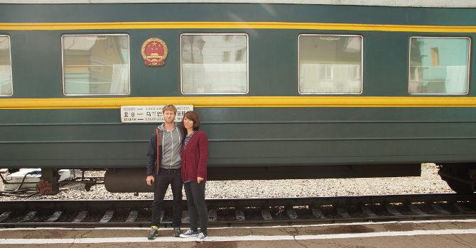 Zug Moskau – Ulaanbaatar – Peking
