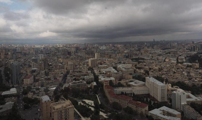 Baku von oben