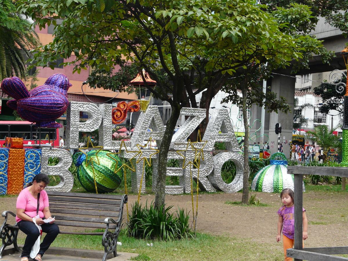 Medellin, Botero Plaza