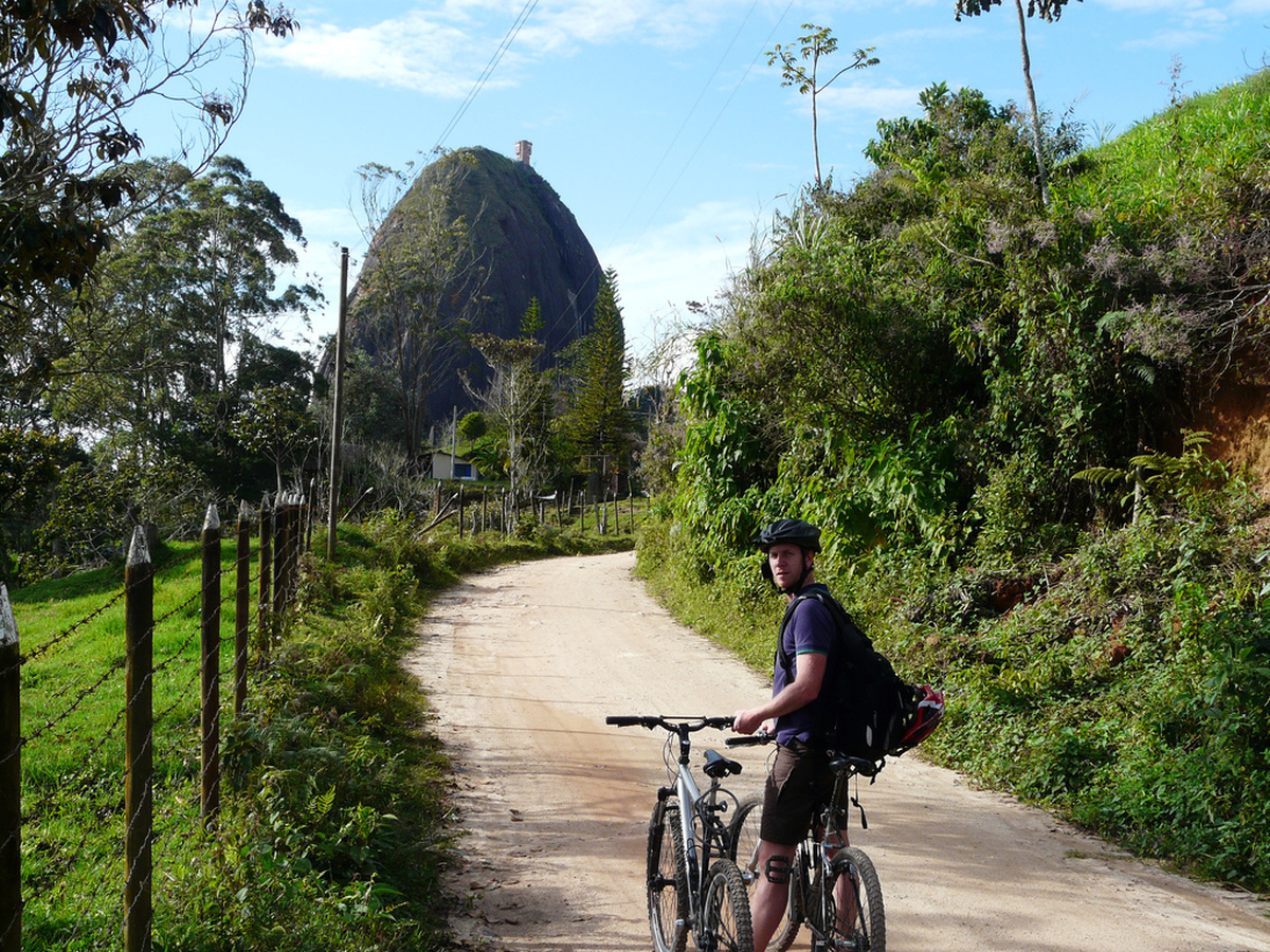 Radtour zum Piedra del Peñol