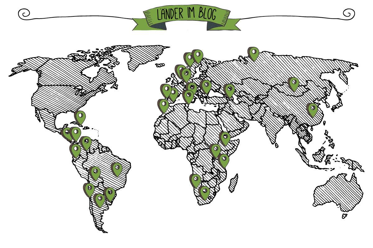 Länder im Blog, puriy