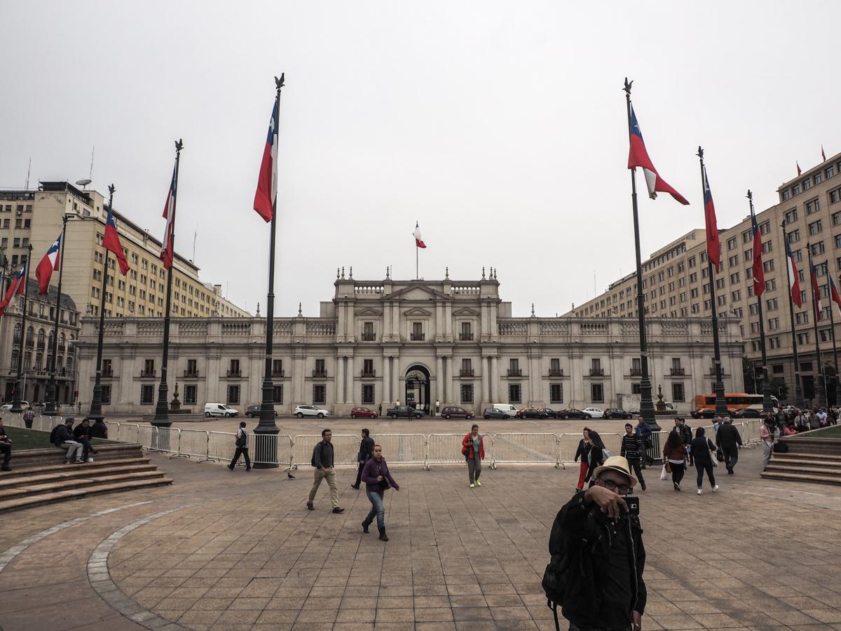 Palast La Moneda