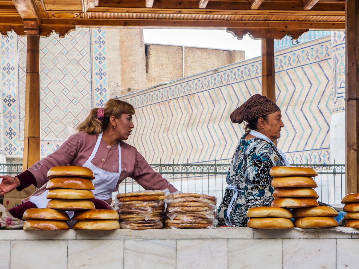 Samarkand, Basar