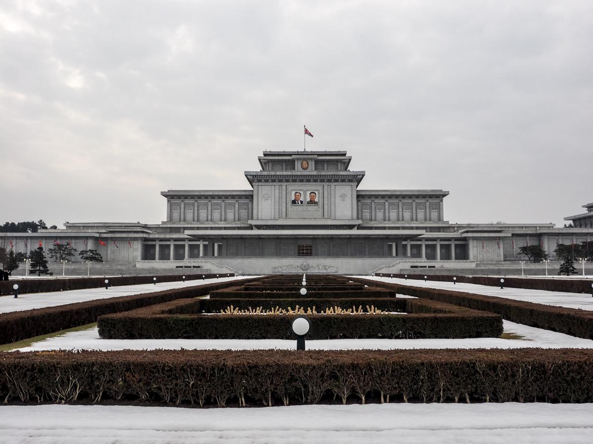Nordkorea, Pjöngjang, Sonnenpalast