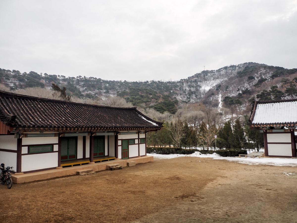 Nordkorea, Pjöngjang, Kwangbop Tempel