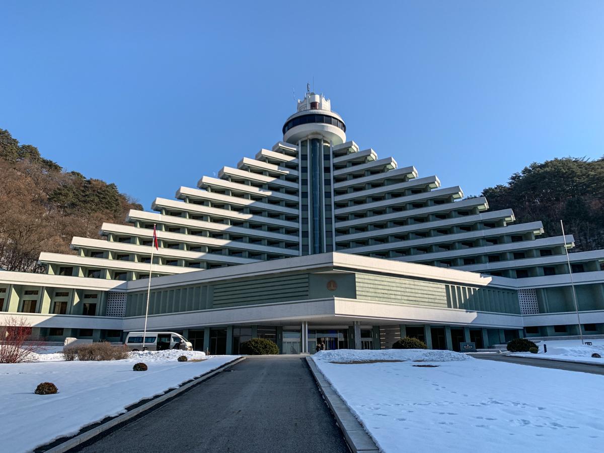 Nordkorea, Hyangsan-Hotel