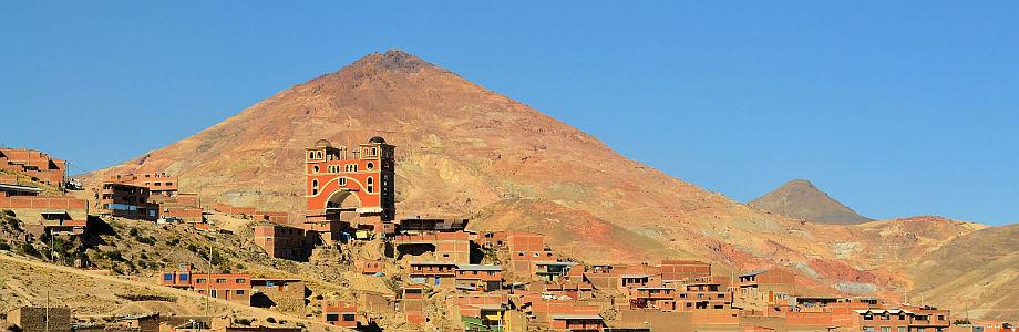 Cerro Rico (Silberberg) bei Potosi