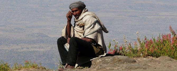 Hirte in Äthiopien